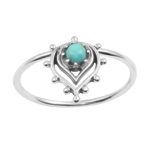 Sunset Ring Turquoise