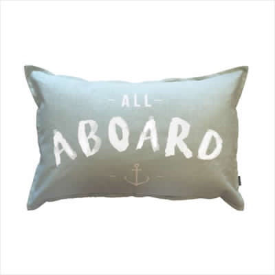All Aboard Sea Green - Roma Gift & Gourmet