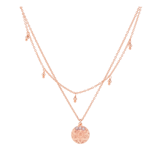 Rose Gold Eternal Harmony Necklace