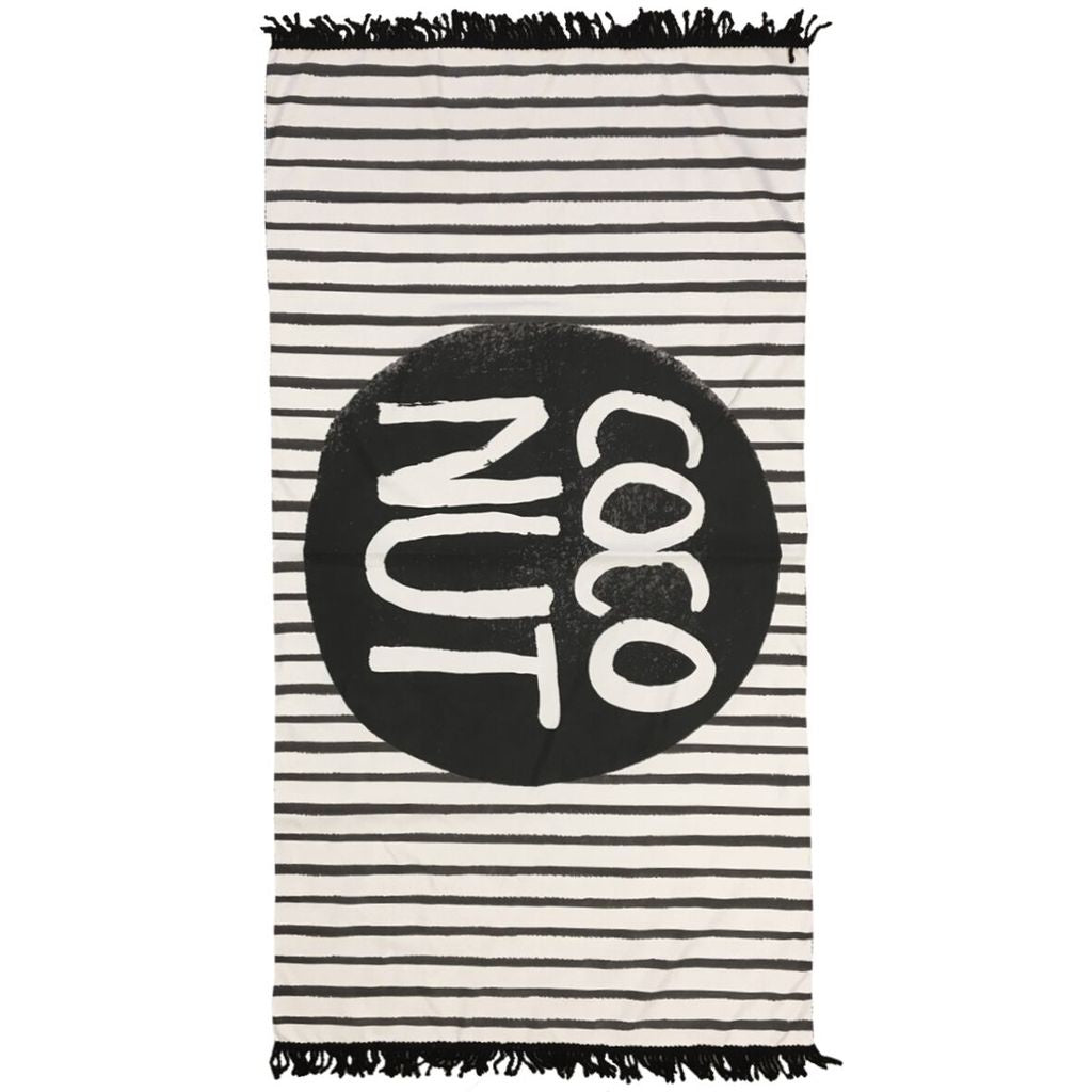 Coco Stripe - Large Towel