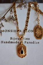 Load image into Gallery viewer, Petit Poison Necklace - Brass Gold Plated
