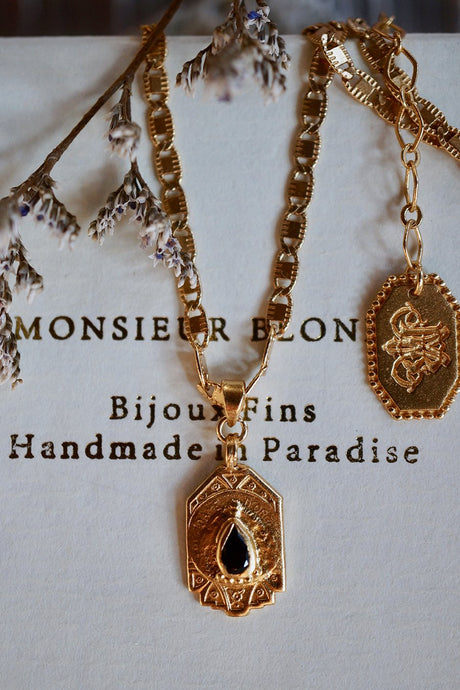 Petit Poison Necklace - Brass Gold Plated - Roma Gift & Gourmet