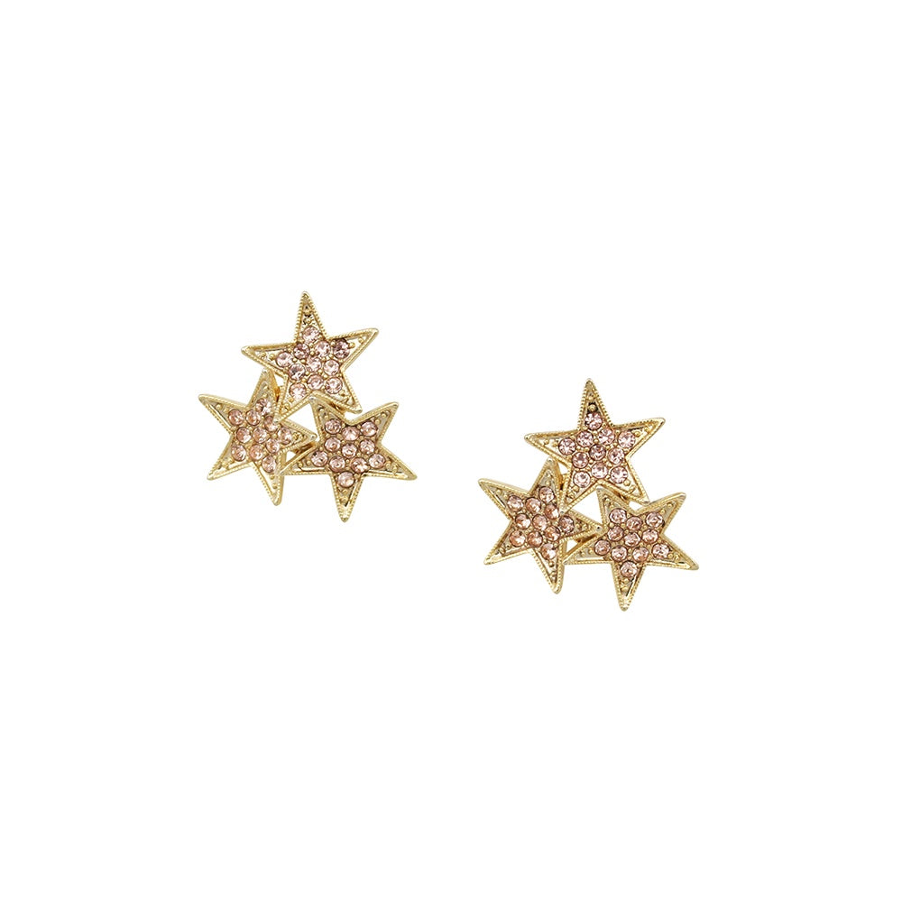 Swarovski Star Earrings