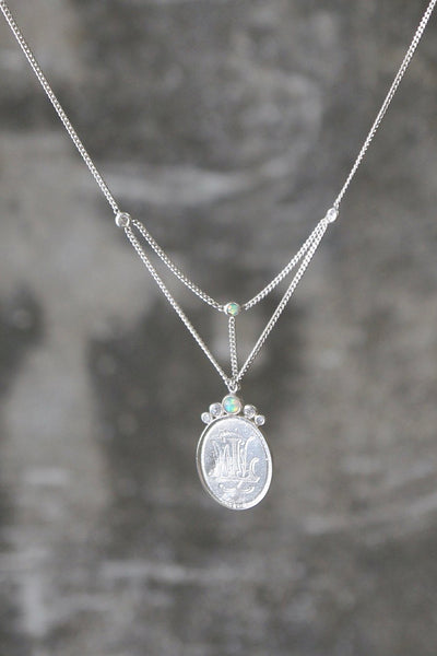 Sweet Emma Silver Necklace