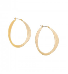 Gold Thin Slice Hoops