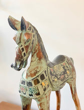 Load image into Gallery viewer, Carved Wooden Rocking Horse - Roma Gift & Gourmet