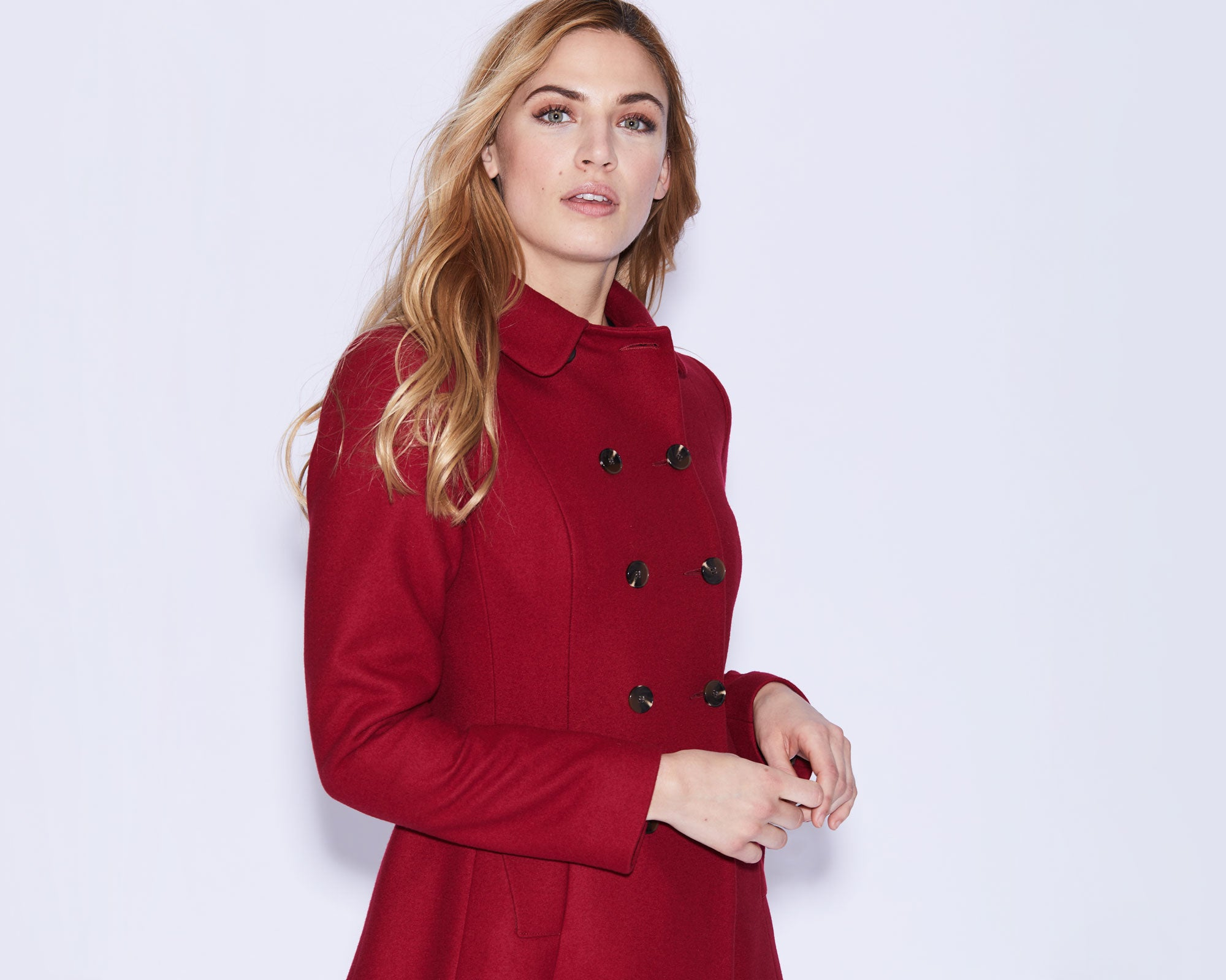 Elliott Coat in Red