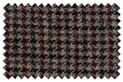 Green and Brown Houndstooth