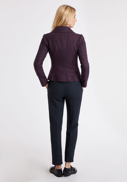 Alexander Jacket in Purple