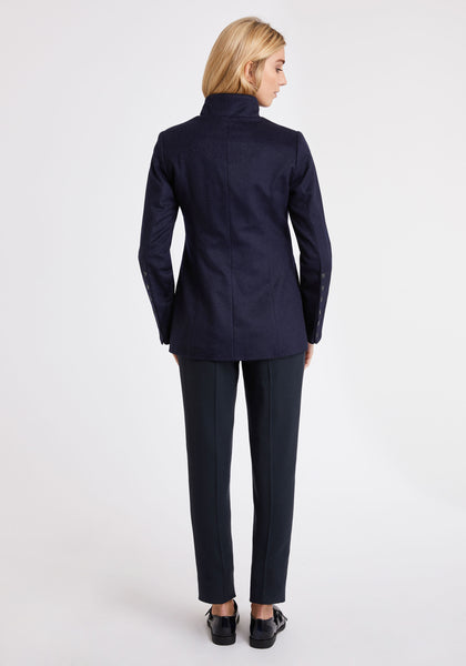 Patmos Jacket in Navy Cashmere