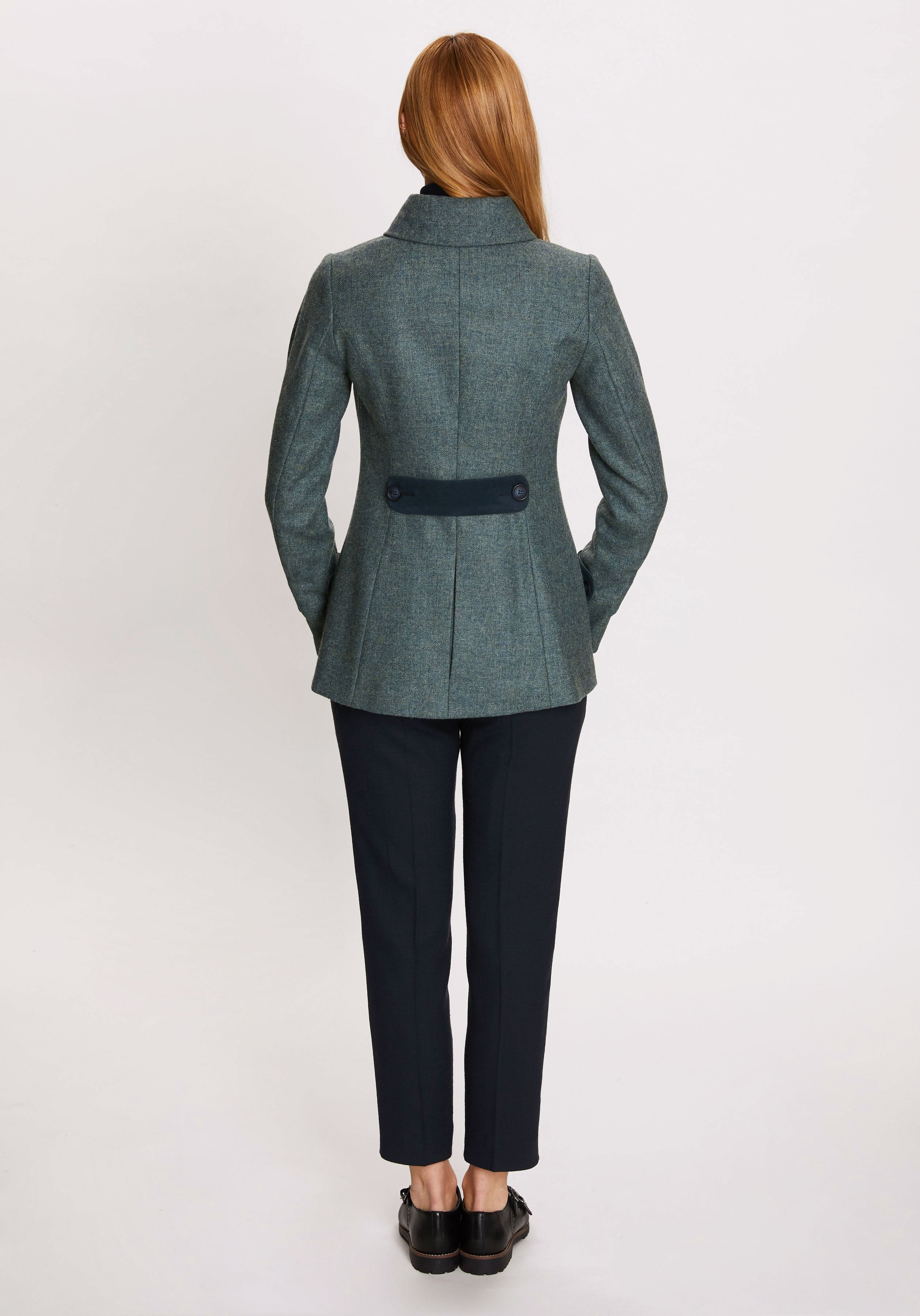 Hendre Jacket in Teal