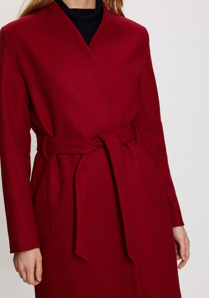 Mattie Coat in Red