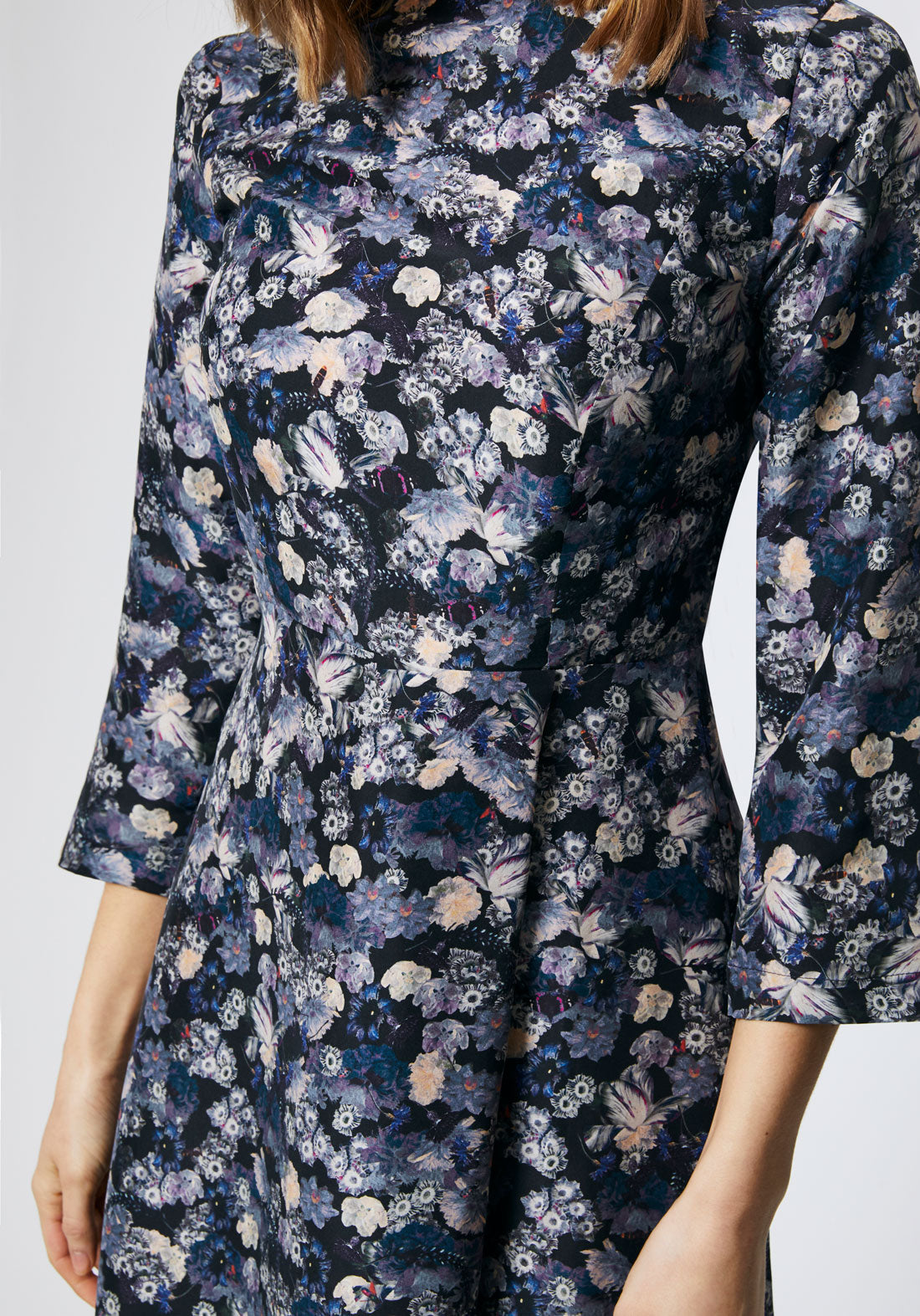 Stafford Dress | Navy Floral
