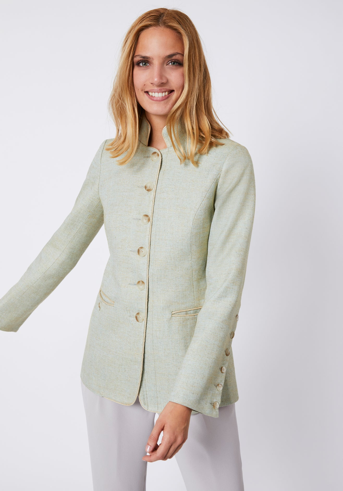Patmos Jacket in Duck Egg