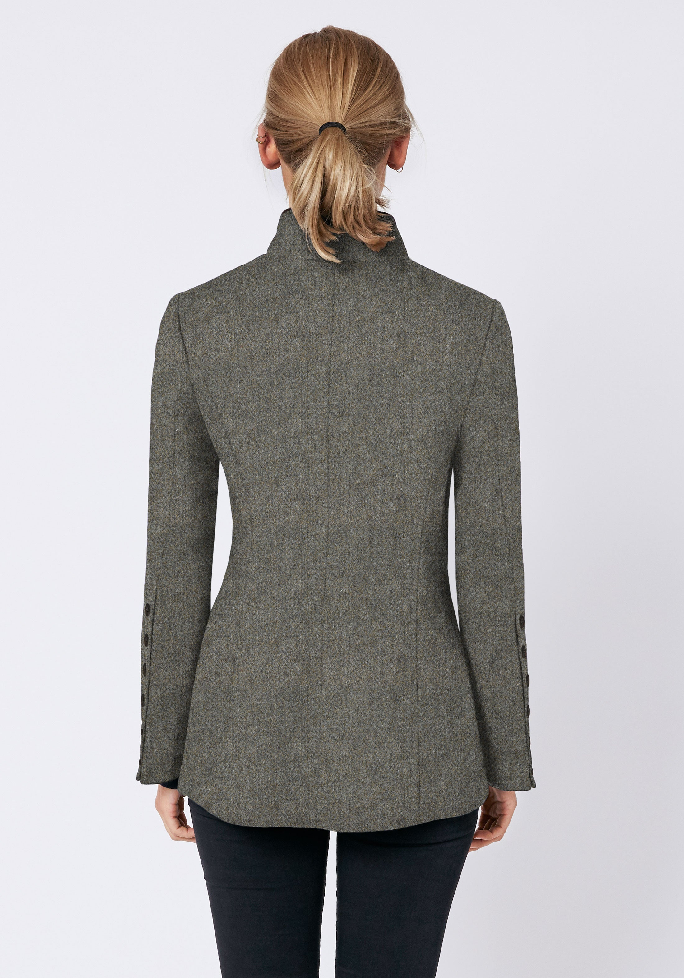 Patmos Jacket in Warm Grey