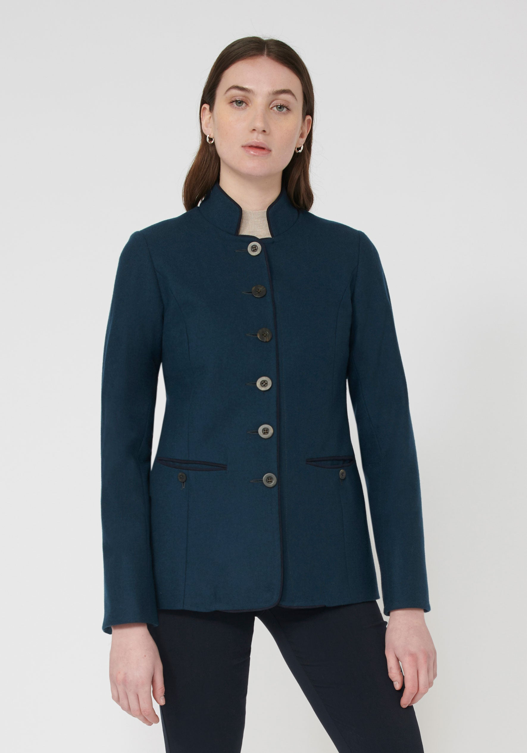 Patmos Jacket Antique Blue.