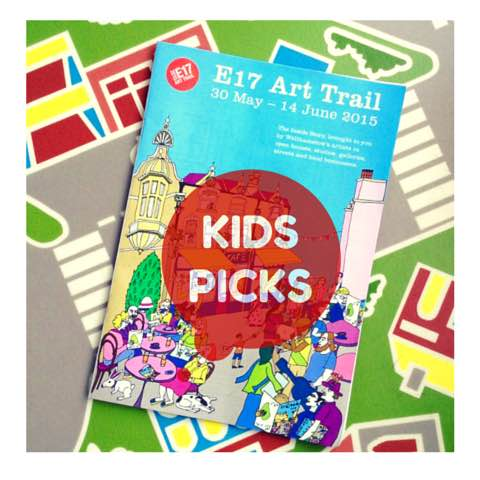 E17 Art Trail Guide Kids Picks