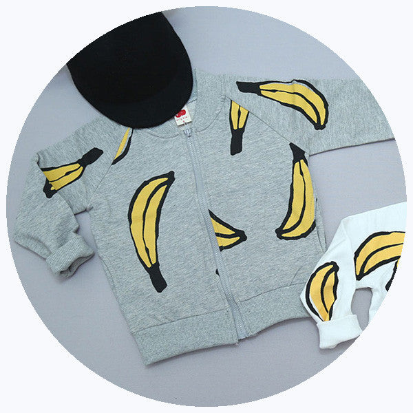 'BANANA' ZIP-UP [SALE]