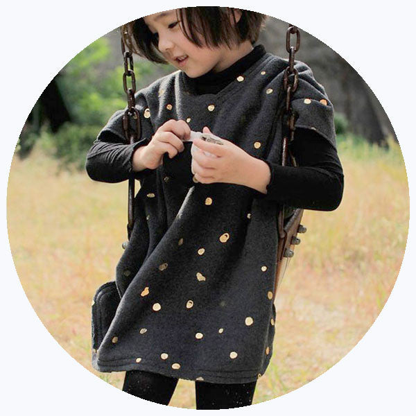 GOLDEN DOTS TUNIC [SALE]