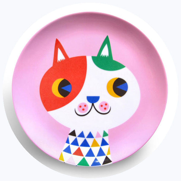 'Cat' Melamine Plate [SALE]