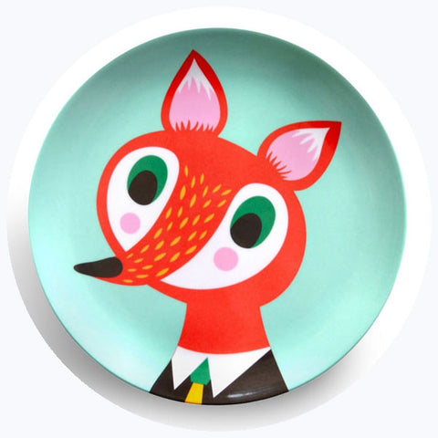 'Fox' Melamine Plate [SALE]
