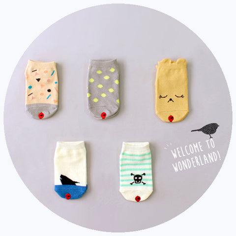 'WONDERLAND' SOCKS SET [SALE]