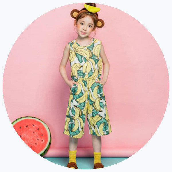 'Banana' Playsuit [SALE]