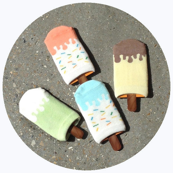 'ICE CREAM' SOCK SET [SALE]