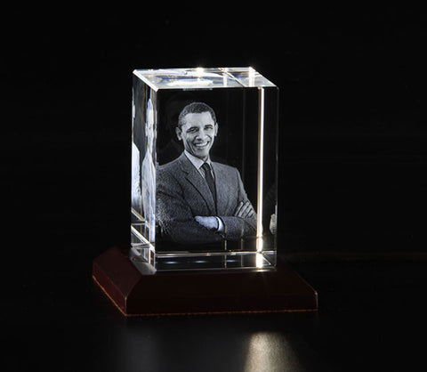 Crystal Cube - 4x4x6 cm (Single Head)