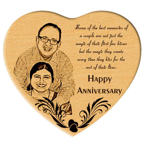 Heart - Wooden engraved gifts