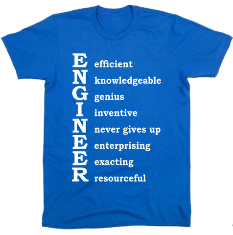 """ Engineer Words "" Tee"