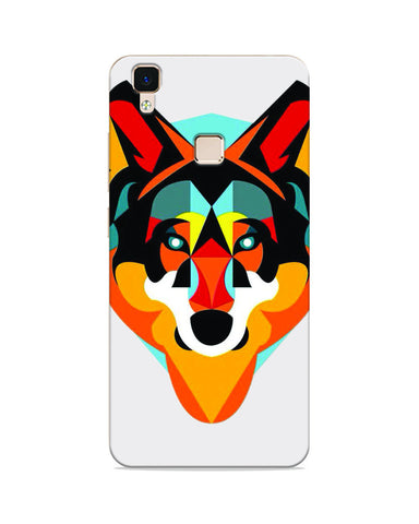 Wolf Colourful  Mobile Case