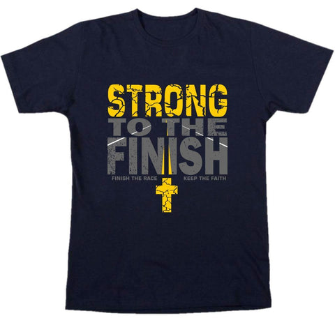 """ Strong To The Finish "" Tee"