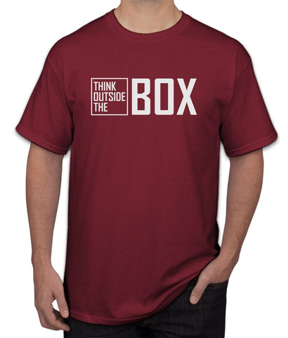 """ Think Outside The Box "" Tee"