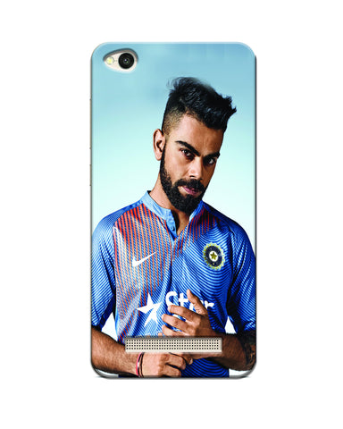""" Virat Kohli "" Printed Mobile Case"