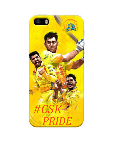 """ #CSK PRIDE "" IPL Mobile Cases"