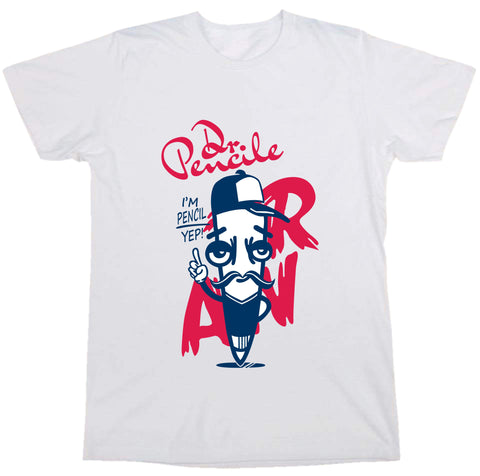 """ Dr.Pencil "" Tee"