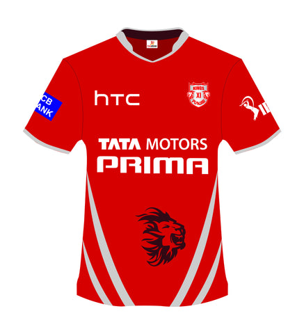 IPL Jersey - Kings 11