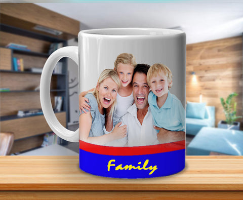 Your Family Photo Mug