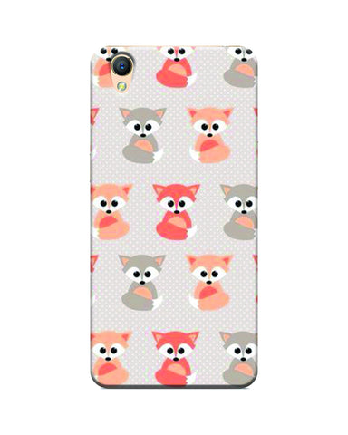 """ Multi Fox "" Printed Mobile Case"
