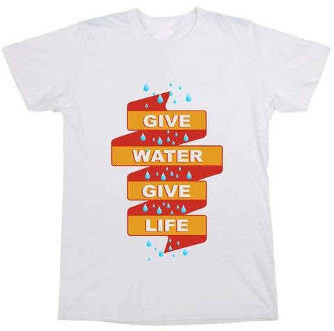 """ Give Water "" Tee"