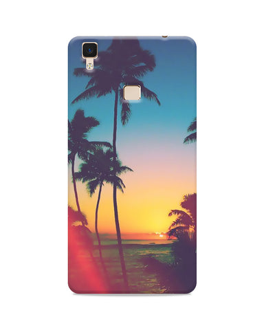 Sun Down Nature  Printed Mobile Case