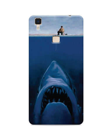 Harpoon Vs Shark  Printed Mobile Case