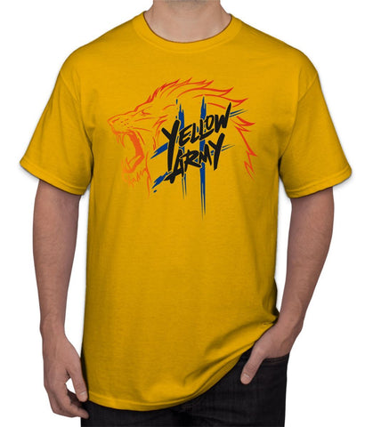 "CSK "" Yellow Army "" Ipl Tee"