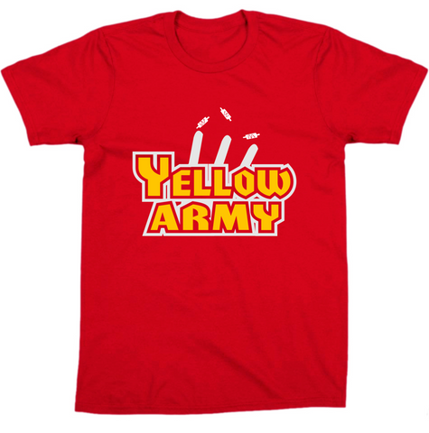 """ Yellow Army "" Csk IPL Tee"