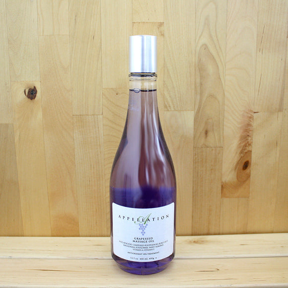 Appellation Grapeseed Massage Oil