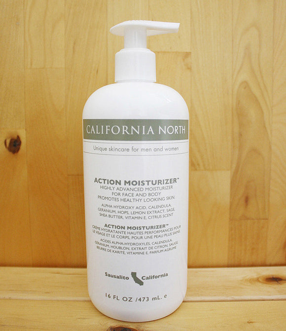 California North Action Moisturizer (AMO) 16 oz. Pump Bottle