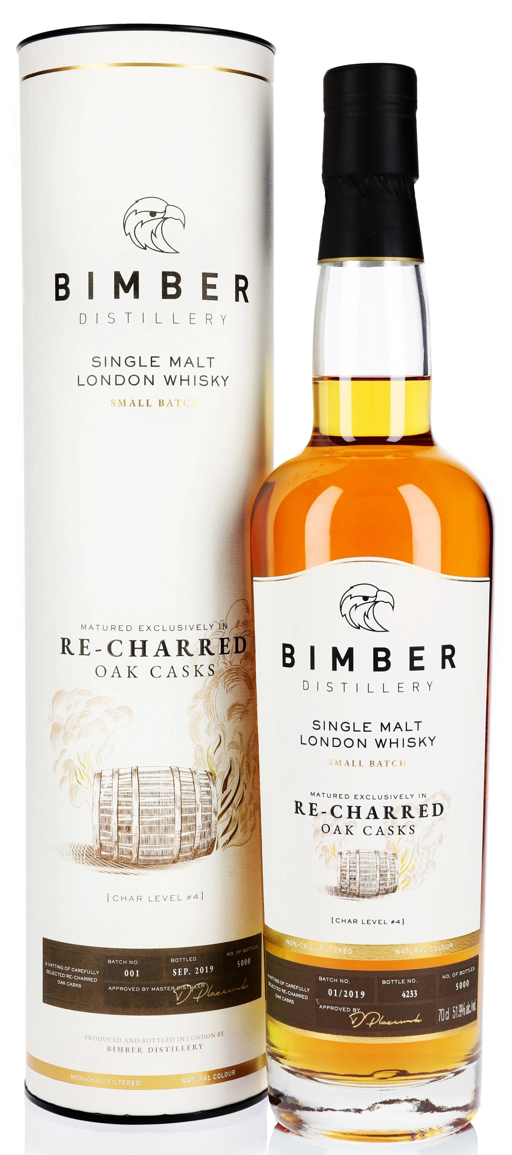 Bimber 'Re-charred Oak Casks' London Whisky