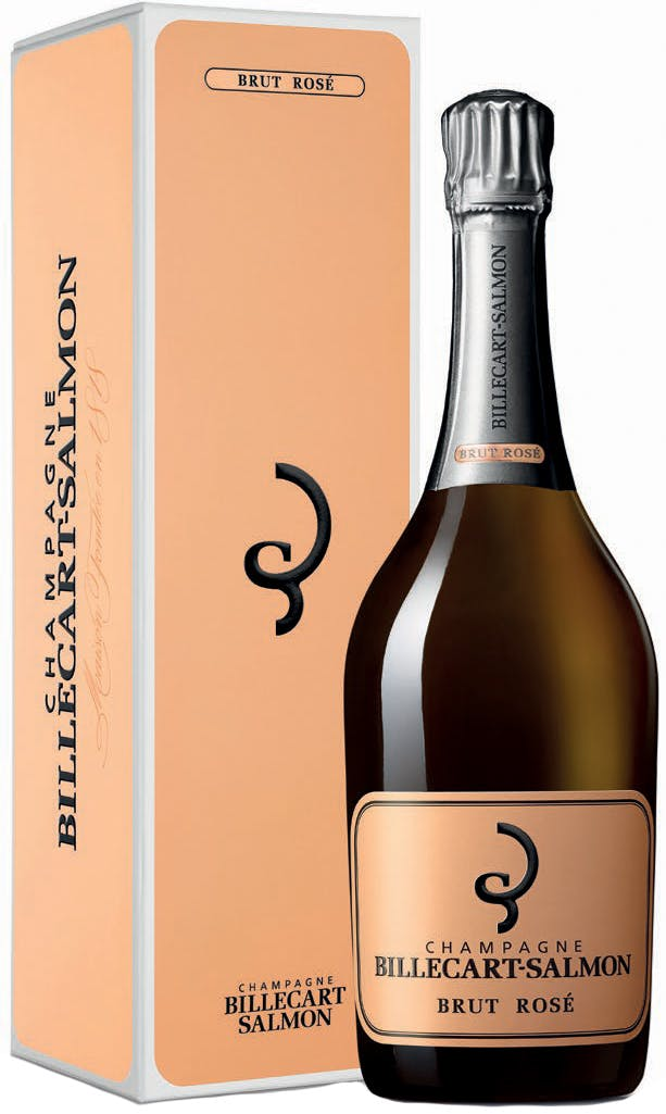 Champagne Billecart-Salmon Brut Rose with giftbox (RP:91)