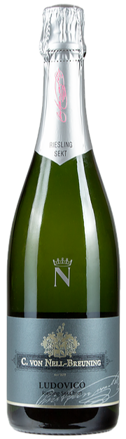 "Weingut C. von Nell-Breuning ""Ludovico"" Brut 2015 (Beethoven's First Love, Traditional Method Riesling Sparkling)"